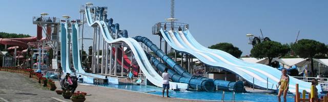 Aquapark v Lignanu