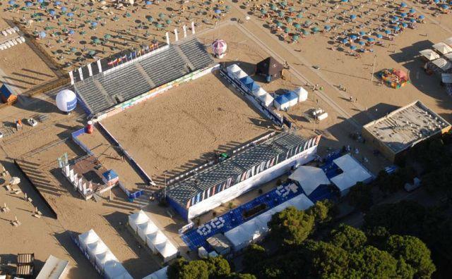 Sportovní aréna v Lignanu